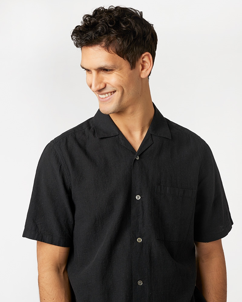 camp-collar-linen-shirt-off-black4588-1