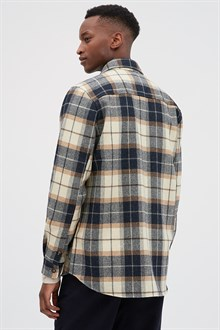 Heavy Shirt - Checked Wool