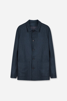 Tailored Wool Overshirt