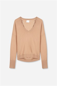 Keys Merino U-Neck