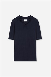 Open Collar Polo