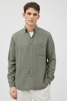 tencel-shirt-button-down-olive9927-1