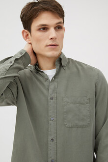 tencel-shirt-button-down-olive9948-3