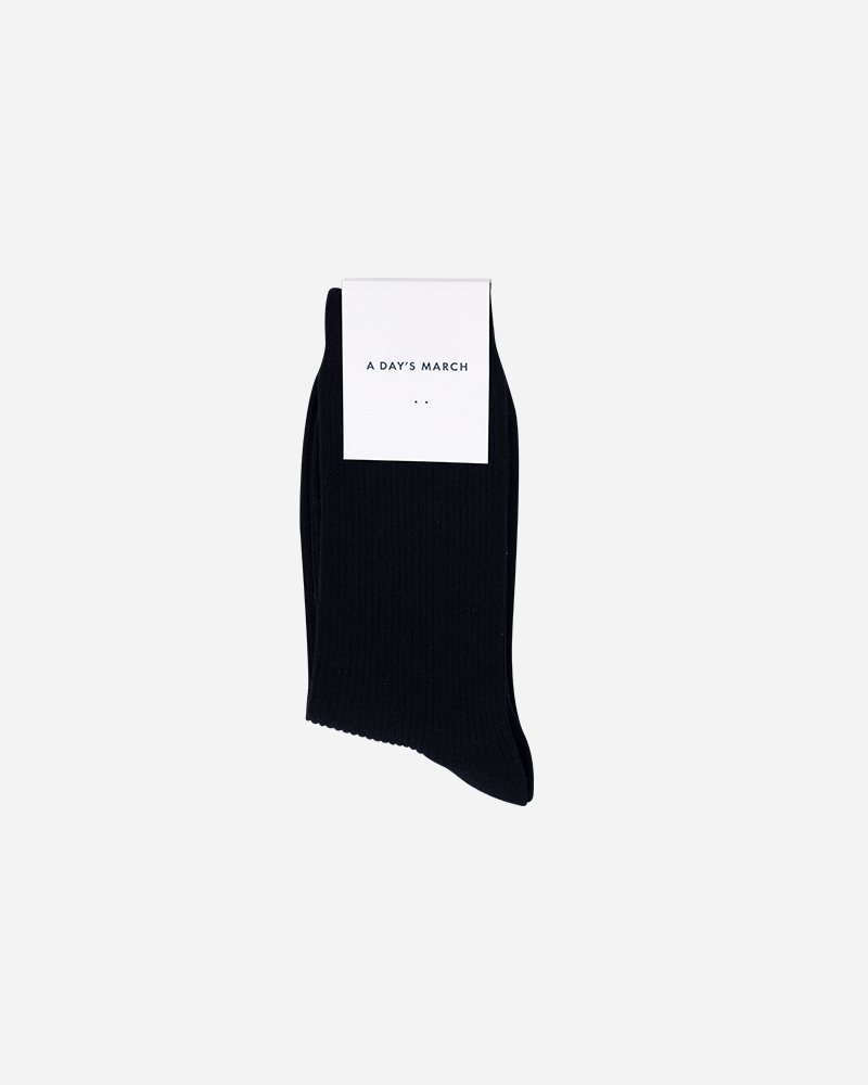 1-adaysmarch-classic-cotton-socks-navy-1
