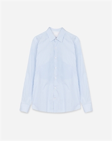 Classic Striped Poplin Shirt