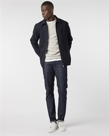 sturdy-fleeceback-sweater-grey+wyatt-herringbone-zip-overshirt-navy+denim2-raw2607-new
