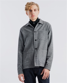 Original Overshirt - Wool Herringbone