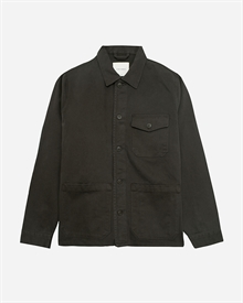 Patch Pocket Overshirt - Sturdy Twill